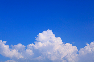 入道雲と青空の写真素材 [FYI02626156]