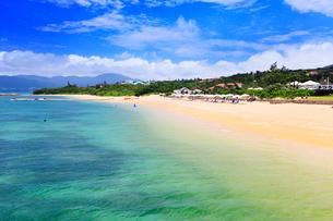 沖縄石垣島 フサキビーチの海の写真素材 [FYI02626438]