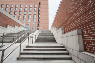 School building in Beijing, Chinaの写真素材 [FYI02637785]