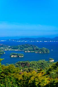 日本三景松島・西行戻しの松公園より松島湾の写真素材 [FYI02641718]