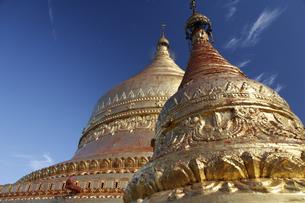 金の仏塔の写真素材 [FYI02641960]