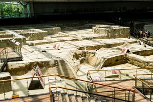 金沙遺跡博物館の仮面の写真素材 [FYI02642207]