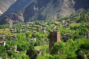 チベット族の村の写真素材 [FYI02642229]