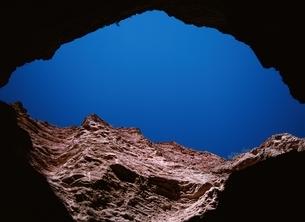 青空とカファジャテ渓谷の内部の写真素材 [FYI02642291]