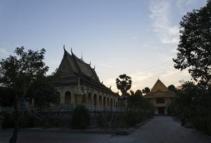 Ong Met Pagoda, Tra Vinh, Mekong Delta region, Vietnamの写真素材 [FYI02642333]