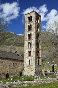 Sant Climent Church, Taull, Vall de Boi, Cataloniaの写真素材 [FYI02642510]