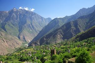 チベット族の村の写真素材 [FYI02642896]