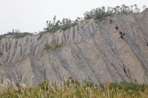 eroded hillsの写真素材 [FYI02642912]