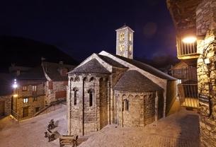 Santa Maria Church, Taull, Vall de Boiの写真素材 [FYI02643005]