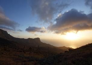 sunset, coastの写真素材 [FYI02643098]