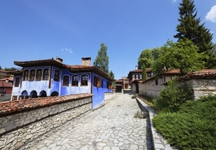 Kantardjiev House, Koprivshtitsa, Bulgariaの写真素材 [FYI02643202]