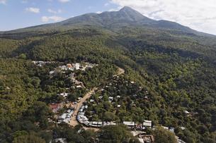 ポパ山からの景色の写真素材 [FYI02643285]