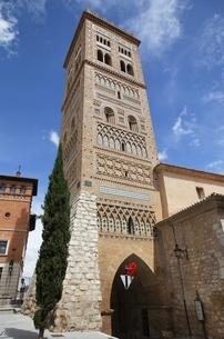Torre de San Martin, Teruel, Aragon, Spainの写真素材 [FYI02643350]