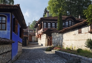 Todor Kableshkov House & Museum, Koprivshtitsaの写真素材 [FYI02643357]