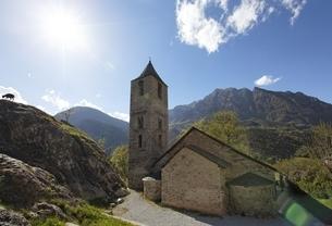 Sant Joan Church, Boi, Vall de Boi, Cataloniaの写真素材 [FYI02643384]