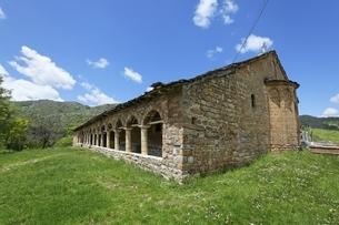 Church of Shen Mehilli, Vithkuq, Albaniaの写真素材 [FYI02643573]