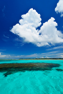 石西礁湖 竹富島沖の写真素材 [FYI02643770]