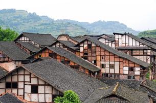 福宝古鎮の家の写真素材 [FYI02643807]