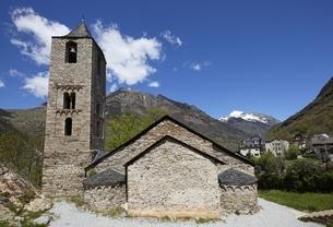 Sant Joan Church, Boi, Vall de Boi, Cataloniaの写真素材 [FYI02643830]