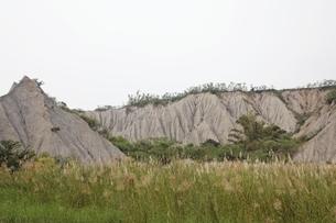 eroded hillsの写真素材 [FYI02643937]