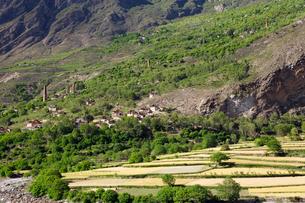 チベット族の村の写真素材 [FYI02643971]
