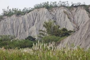 eroded hillsの写真素材 [FYI02644053]