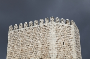 tower, town wall, fortification, Teruel, Aragon, Spainの写真素材 [FYI02644189]