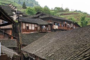 福宝古鎮の家の写真素材 [FYI02644210]