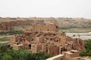 kasbah' (fortified house)の写真素材 [FYI02644243]