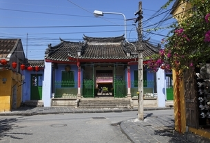 Chinese Al-Community Assembly Hall, Hoi An, Vietnamの写真素材 [FYI02644265]