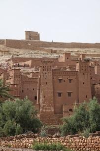 kasbah' (fortified houses)の写真素材 [FYI02644349]