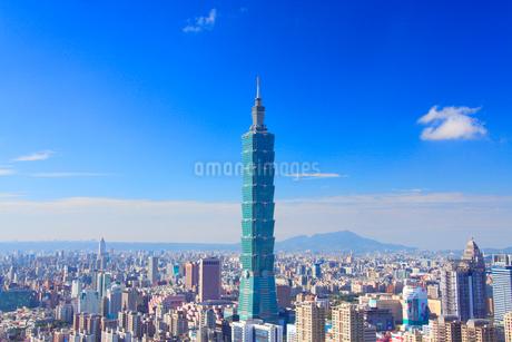 台北101などのビル群の写真素材 [FYI02644894]