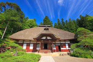 常楽寺の本堂の写真素材 [FYI02645485]