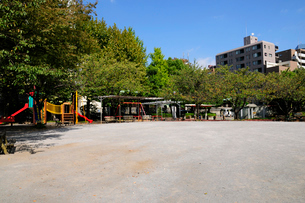 鉄砲洲児童公園の写真素材 [FYI02646063]