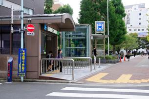 八丁堀駅(桜川公園となり)の写真素材 [FYI02646203]