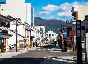 松本市 城下町中町通りの写真素材 [FYI02646374]