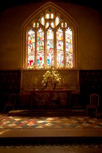 スードリー城の教会の写真素材 [FYI02646386]