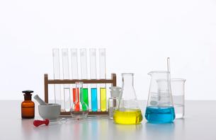 理化学ガラス器具の写真素材 [FYI02646652]