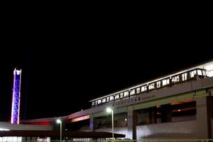 神戸 ポートターミナル駅の夜景の写真素材 [FYI02647060]