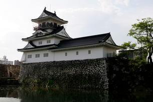 富山市郷土博物館のお堀の写真素材 [FYI02647187]