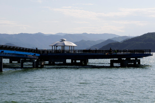 小浜湾あかぐり海釣公園風景の写真素材 [FYI02647223]