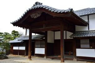 彦根城 楽々園表玄関の写真素材 [FYI02647309]
