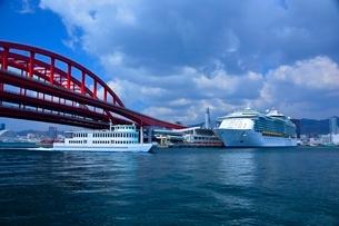 神戸港にMARINER OF THE SEASが停泊の写真素材 [FYI02647360]
