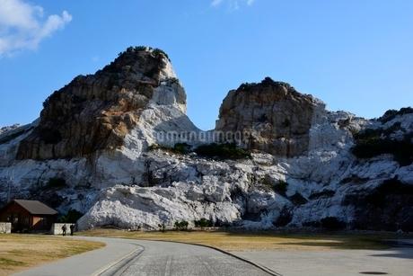 和歌山,白崎海洋公園,石灰岩の写真素材 [FYI02647568]