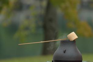 お茶のイメージ(浜離宮恩賜庭園,東京大茶会)の写真素材 [FYI02647645]