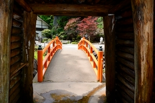 史跡,生野銀山,滝間歩抗道出口の写真素材 [FYI02647682]