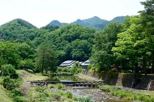 多々良木ダム周辺,みどり館の写真素材 [FYI02648208]