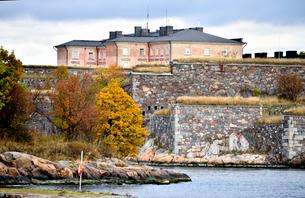 ロシアの侵攻を防ぐ要塞群が作られたスオメンリンナ島の写真素材 [FYI02648309]