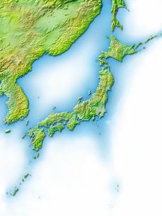 日本列島地図のイラスト素材 [FYI02648705]