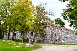 ロシアの侵攻を防ぐ要塞群が作られたスオメンリンナ島の写真素材 [FYI02648767]